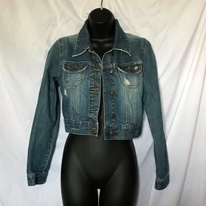 Old Navy Denim Jean Jacket - Size S - waist length